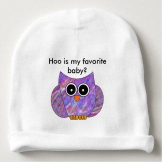 Chapéu favorito do bebê da coruja gorro para bebê
