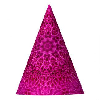 Chapéu feito sob encomenda cor-de-rosa do partido