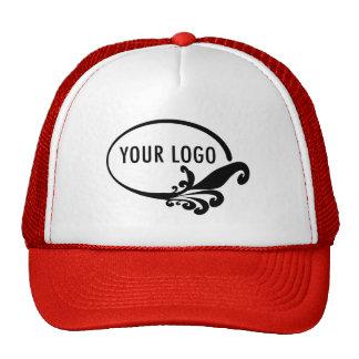 Chapéu feito sob encomenda do logotipo do negócio boné