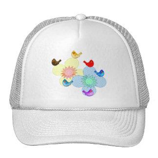 Chapéu feliz dos pássaros boné