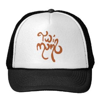chapéu gêmeo da mamã boné