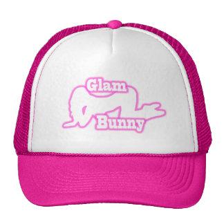 Chapéu Glam cor-de-rosa do camionista do rastejame Boné