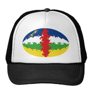 Chapéu Gnarly da bandeira de Centrafrique Boné