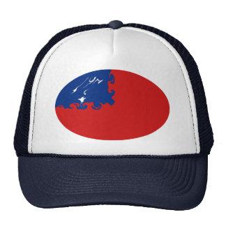 Chapéu Gnarly da bandeira de Samoa Bone