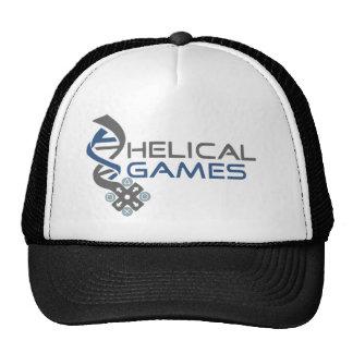 Chapéu helicoidal do logotipo dos jogos boné