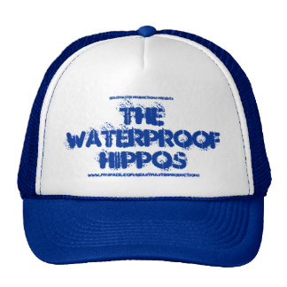 Chapéu impermeável oficial dos hipopótamos boné