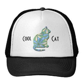 Chapéu legal do camionista do gato boné