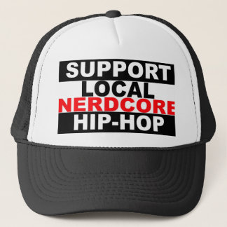 Chapéu local do hip-hop de Nerdcore do apoio Boné