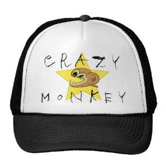 Chapéu louco do macaco bones