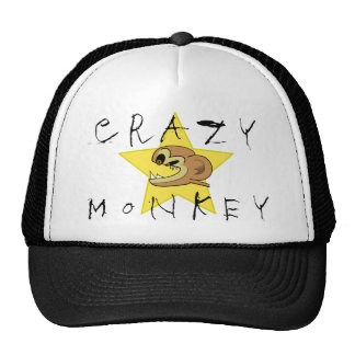Chapéu louco do macaco boné