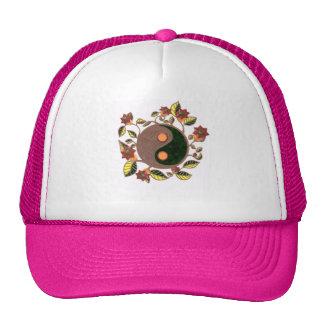 Chapéu lunático do camionista de Yin Yang Boné