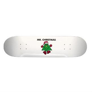 Chapéu & luvas festivos do Sr. Natal | Shape De Skate 21,6cm