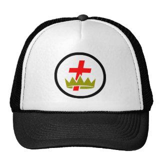 Chapéu maçónico de Templar do cavaleiro Boné