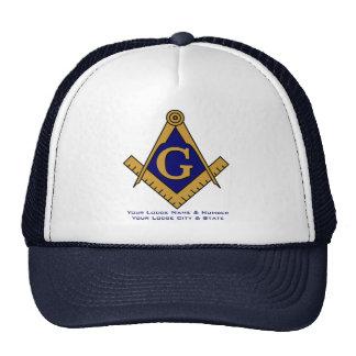 Chapéu maçónico do camionista do alojamento do est boné