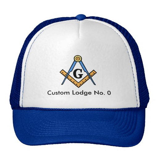 Chapéu maçónico feito sob encomenda do alojamento bones