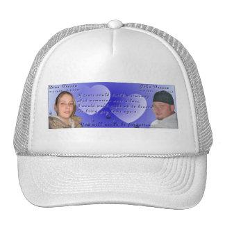 Chapéu memorável da foto de Dina e de John Boné