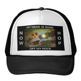 Chapéu negro do LOGRO-ROCK pelo deprise Bríxia Bonés