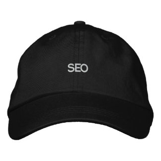 Chapéu negro SEO Boné