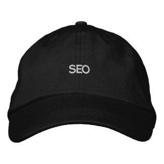 Chapéu negro SEO Boné Bordado