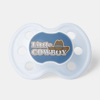 Chapéu ocidental do vaqueiro pequeno chupeta de bebê