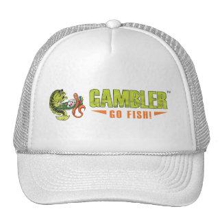 Chapéu original do camionista do logotipo do jogad boné