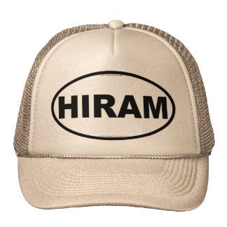 Chapéu oval do camionista de HIRAM Boné