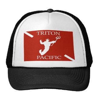 Chapéu pacífico do camionista do logotipo de Trito Boné
