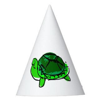 Chapéu parvo do partido do Doodle da tartaruga