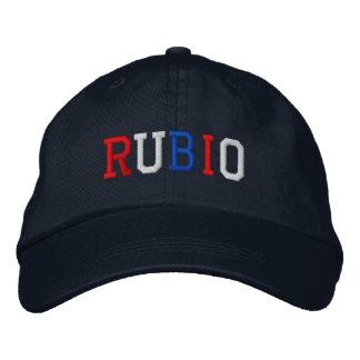 Chapéu patriótico azul branco vermelho do boné bordado