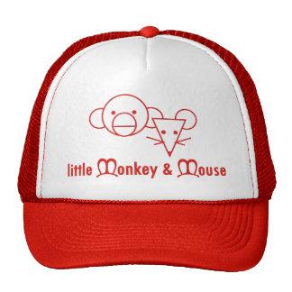 Chapéu pequeno do macaco e do rato boné