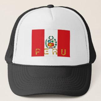Chapéu peruano da lembrança da bandeira de Peru Boné