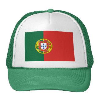 Chapéu português da bandeira boné