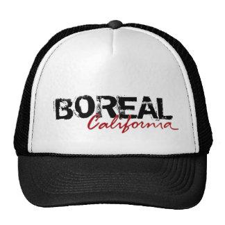 Chapéu preto boreal da cidade de Califórnia Boné