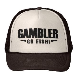 Chapéu preto do camionista do logotipo do jogador boné