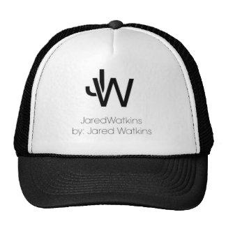 Chapéu preto do logotipo de JaredWatkins Boné