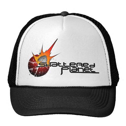 Chapéu quebrado do planeta bonés