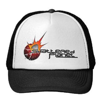 Chapéu quebrado do planeta boné