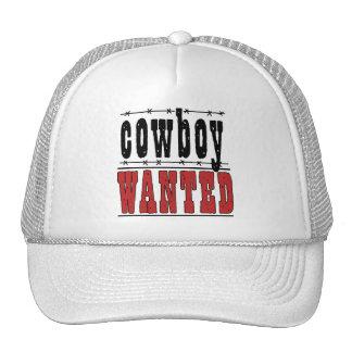 Chapéu querido vaqueiro do boné do divertimento do