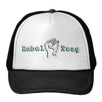Chapéu rebelde do camionista do logotipo dos ganho boné