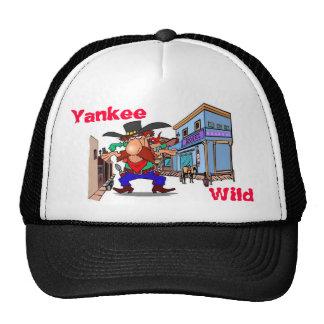 Chapéu selvagem do ianque boné