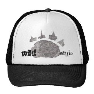 chapéu selvagem do trucka do estilo boné