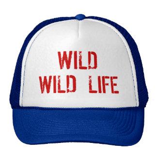 Chapéu selvagem selvagem do camionista da vida boné
