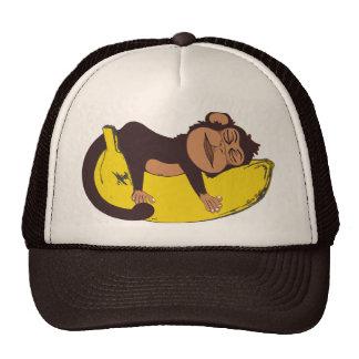 Chapéu sonolento do macaco boné