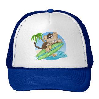 Chapéu surfando dos desenhos animados da praia do  boné