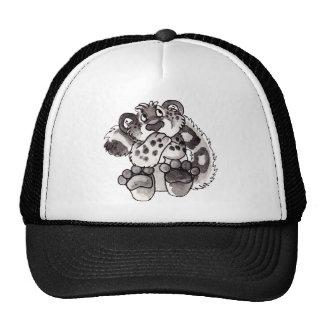Chapéu tímido de Cub do leopardo de neve Boné