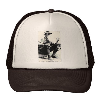 chapéu velho do prospector boné