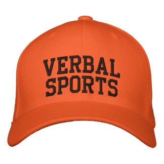 Chapéu verbal do fã de esportes boné bordado