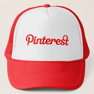 Chapéu vermelho de Pinterest Boné