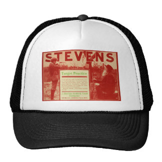Chapéu vermelho do camionista do anúncio da arma d boné