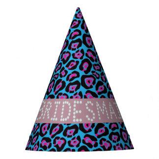 Chapéus azuis/cor-de-rosa da dama de honra do